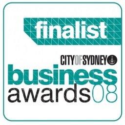 Sydney Business Awards 2008 Finalist