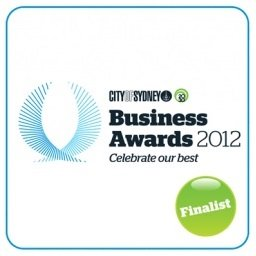 Sydney Business Awards 2012 Finalist